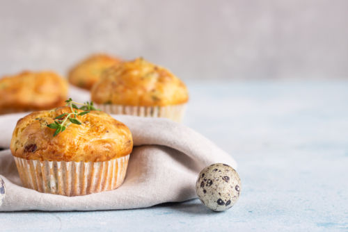 Ostermuffins speck käse eiern