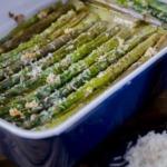 Spargel-parmesan