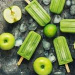 Wassereis-apfel-limette