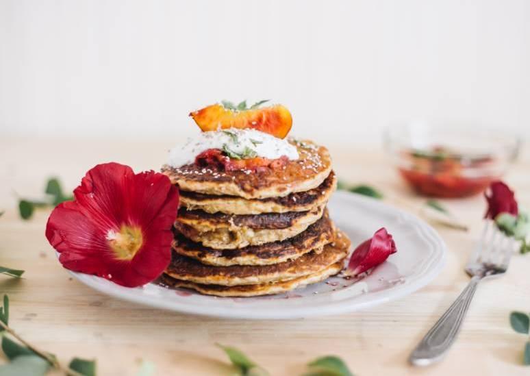 Stilechte American Pancakes 1