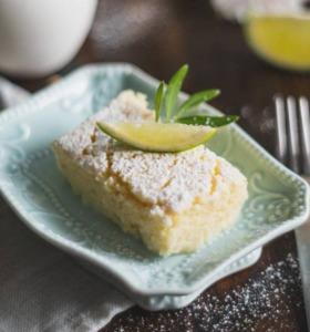 Saftiger Limettenkuchen