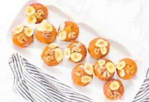 Köstlich-saftige Bananenbrot-Muffins
