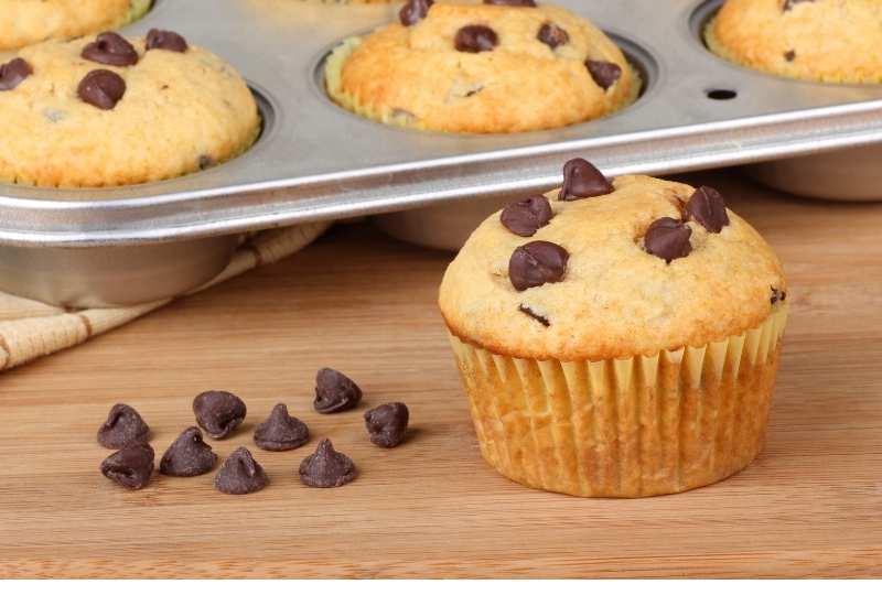 Muffins schokostückchen
