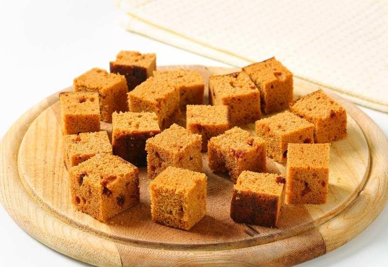 Honigkuchen-würfel