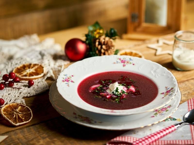 Polnischer Borschtsch – Rote-Bete-Suppe Barszcz czerwony 1