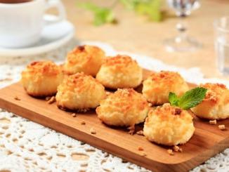 Kokosmakronen mit Honig
