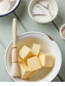 Vanillekipferl mit Mandeln (3)