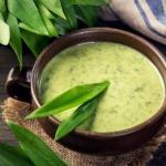 Bärlauch-cremesuppe