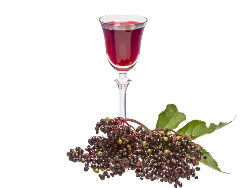 Fruchtiger Holunderlikör mit Rum 1