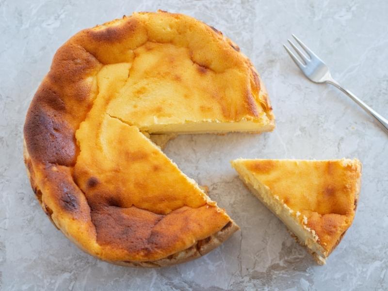 Quarkkuchen-ohne boden-ganz