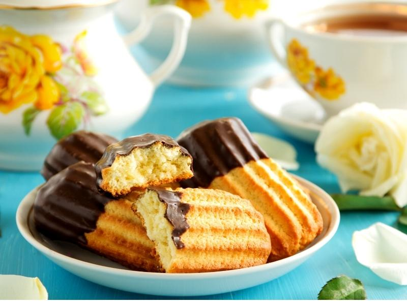 Feines Butter-Spritzgebäck, Grundrezept 1