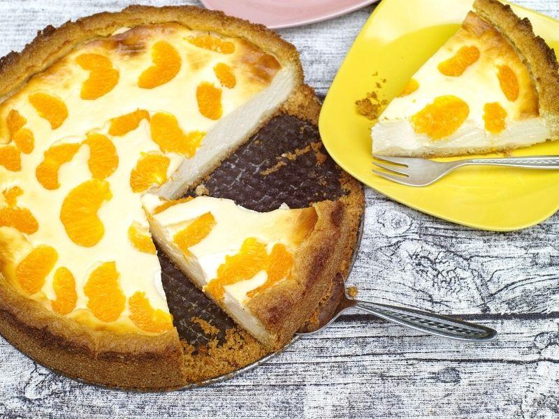 Der beste Mandarinen-Quarkkuchen 1